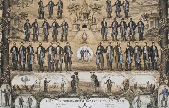 L'Histoire par l'image s'intéresse au compagnonnage…