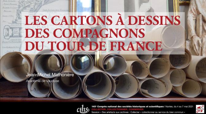 Les cartons à dessins des compagnons du Tour de France